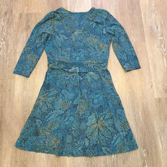 9539f81a Lands' End Dresses | Lands End Jersey Faux Wrap Dress S 68 | Poshmark